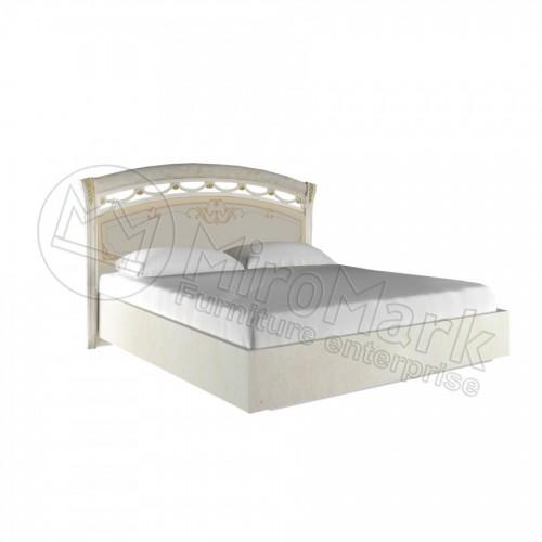 Кровать 1,6 Rosella твёрдая спинка