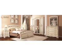 Спальня Rosella Радика Беж со шкафом 4Д