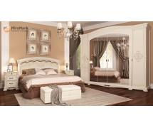 Спальня Rosella Радика Беж со шкафом 6Д