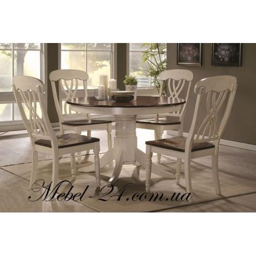Стол и стулья Брадо комплект (WoodHause)