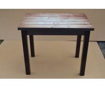 Кухонный стол Ажур столешница стекло
