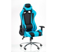 Кресло Special4You ExtremeRace black/blue