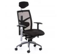 Кресло Special4You EXACT BLACK FABRIC BLACK MESH