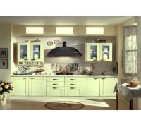 Кухня прямая фасады профиль AGT