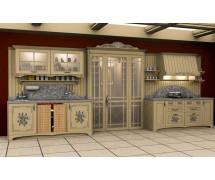 Кухня классика прямая 4