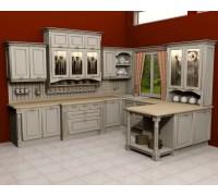 Кухня классика угловая 11