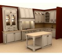 Кухня классика угловая 9