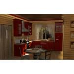 Кухня классика угловая 29
