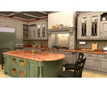 Кухня классика угловая 12