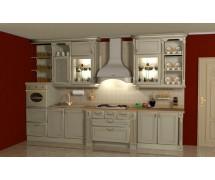 Кухня классика прямая 7