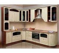 Кухня угловая МДФ-16 мм, фурнитура DC