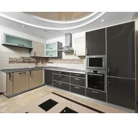 Кухня угловая МДФ-16мм крашенный