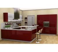 Кухня модерн угловая 14