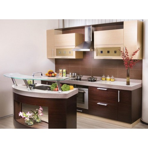 Кухня модерн прямая 6