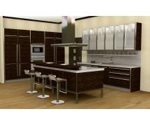 Кухня модерн прямая 12