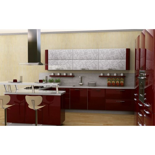 Кухня модерн угловая 5
