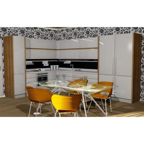 Кухня модерн угловая 6