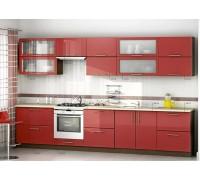 Кухня прямая МДФ, эконом стандарт-4