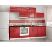 Кухня прямая МДФ, эконом стандарт-8