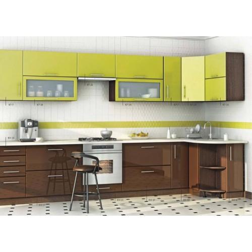 Кухня угловая МДФ,эконом стандарт-16