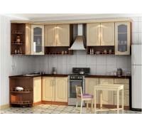 Кухня угловая МДФ, эконом стандарт-24