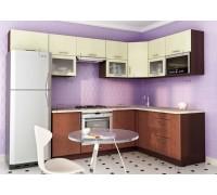 Кухня угловая МДФ, эконом стандарт-14