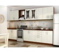 Кухня прямая МДФ, эконом стандарт-11