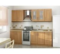 Кухня прямая МДФ, эконом стандарт-12