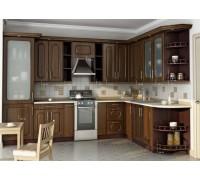 Кухня угловая МДФ, эконом стандарт-6