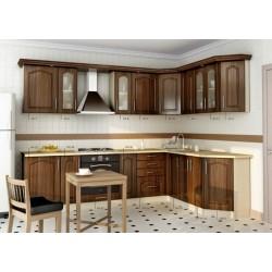 Кухня угловая МДФ, эконом стандарт-7