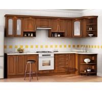 Кухня угловая МДФ, эконом стандарт-8