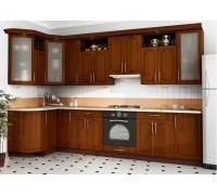 Кухня угловая МДФ, эконом стандарт-9