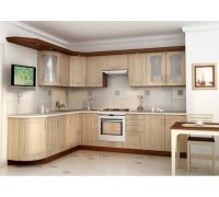Кухня угловая МДФ,эконом стандарт-10