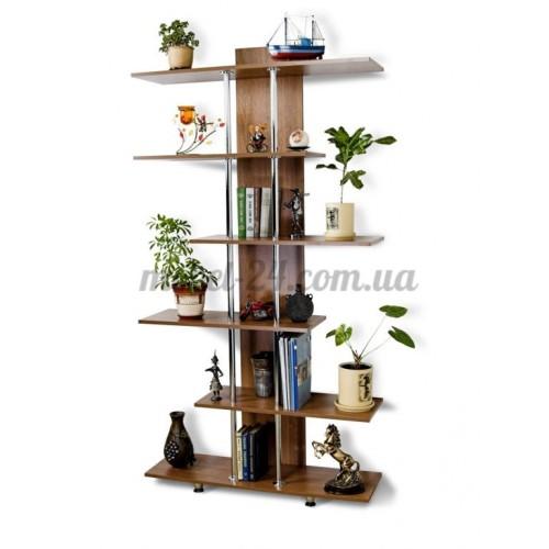 Модус М 4 стеллаж книжный Тиса Мебель