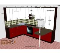 Проект кухни МДФ