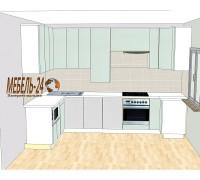 Кухня и гардеробная Белогородка
