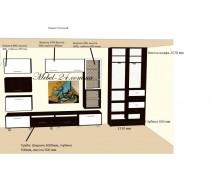 Гостиная дизайн проекта