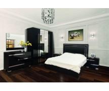 Спальня Экстаза новая (черный лак)