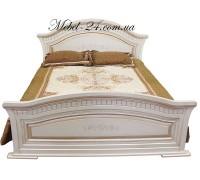 Кровать Николь патина