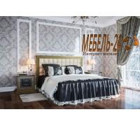 Кровать София Люкс с мягким изголовьем