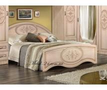 Кровать с высоким изножьем Василиса МФ