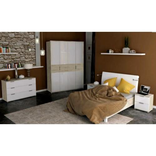 Спальня Верона комплект со шкафом 6д