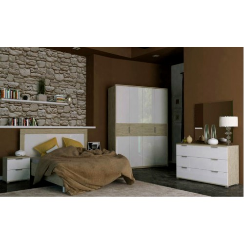 Спальня Верона набор со шкафом 4д