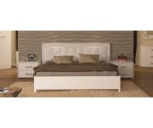 Кровать Белла 1,8 с мягким изголовьем