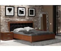 Кровать 1,6 Белла подъемное мягкая спинка