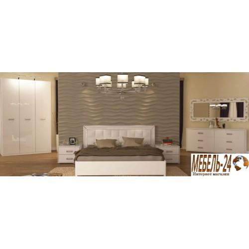 Спальня Белла белая Миромарк