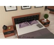 Кровать 2сп профиль мягкая спинка Флора