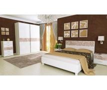 Спальня Флора Глянец Белый набор