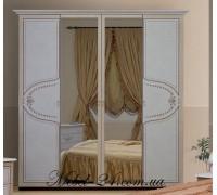 Шкаф 4Д Мартина с зеркалами