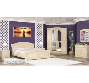 Спальня Милано Мебель Сервис
